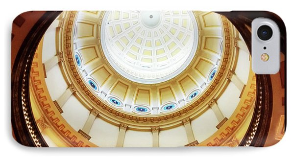 IPhone Case featuring the photograph Interior Denver Capitol by Marilyn Hunt