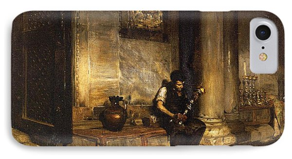Interior Of The Baptistry IPhone Case by William Merritt Chase