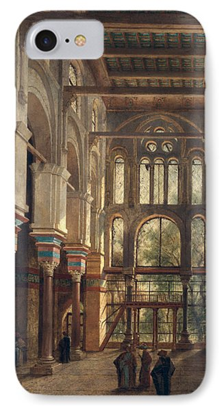 Interior Of The Mosque Of El Mooristan In Cairo IPhone Case