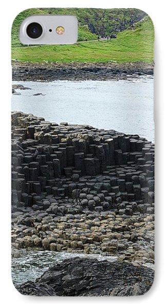 Interlocking Basalt Columns IPhone Case
