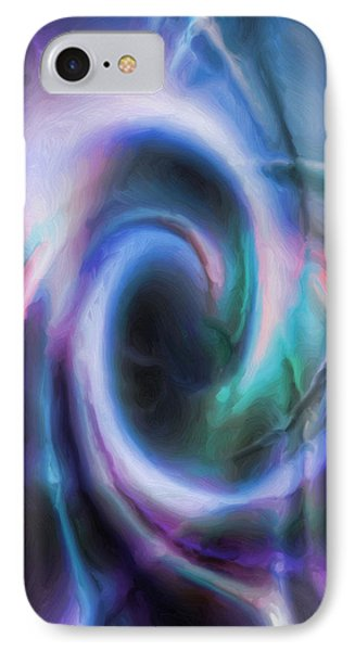 Internal Abstract IPhone Case by Tyler Robbins