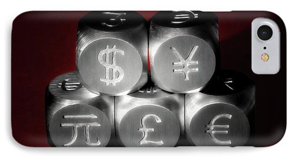 International Currency Symbols II IPhone Case by Tom Mc Nemar