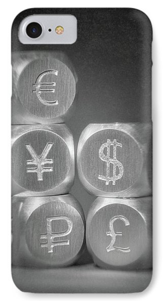 International Currency Symbols IPhone Case by Tom Mc Nemar