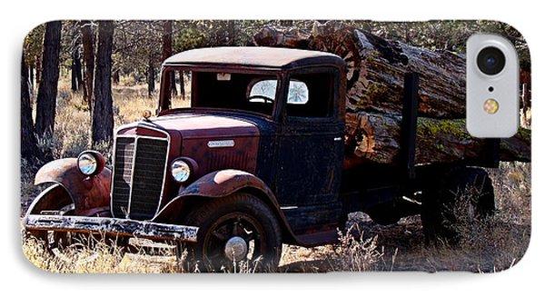 International Log Truck IPhone Case