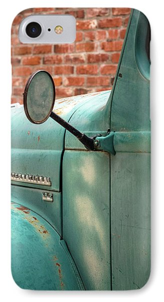 IPhone Case featuring the photograph International Truck Side View by Heidi Hermes