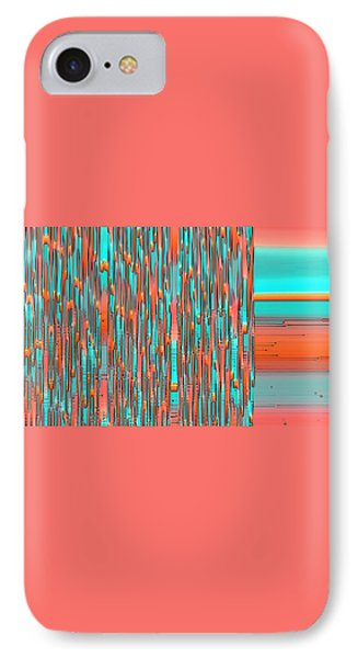 Interplay Of Warm And Cool Phone Case by Ben and Raisa Gertsberg