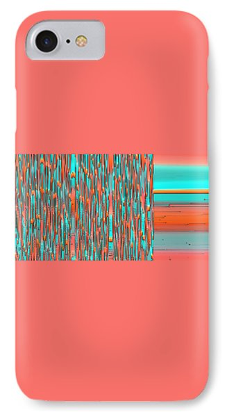 Interplay Of Warm And Cool IPhone Case by Ben and Raisa Gertsberg