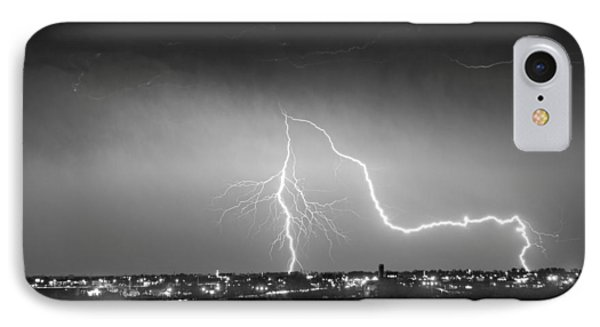 Intersection Black And White Phone Case by James BO  Insogna