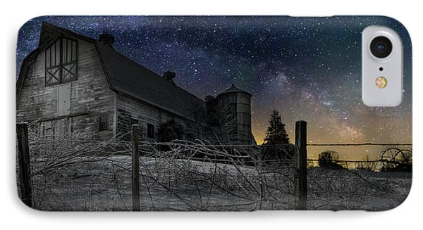 IPhone 7 Case featuring the photograph Interstellar Farm by Bill Wakeley