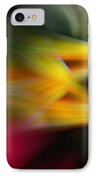 Intertwined IPhone Case by Cherie Duran