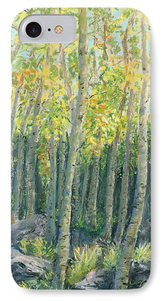 Into The Aspens Phone Case by Mary Benke