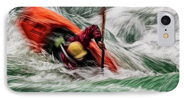 IPhone Case featuring the photograph Into The Drink by Brad Allen Fine Art