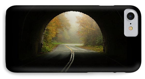 Into The Fall Blue Ridge Parkway North Carolina IPhone Case by Terry DeLuco