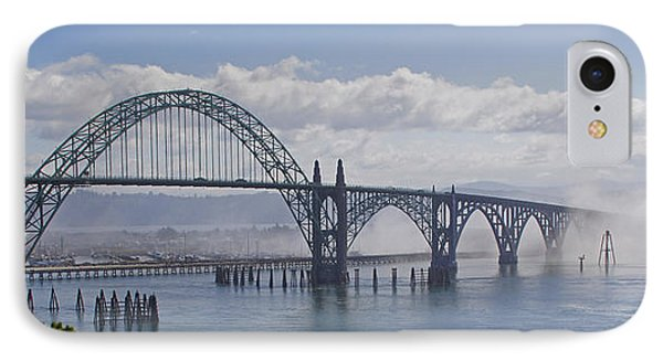 IPhone Case featuring the photograph Into The Fog At Newport by Mick Anderson