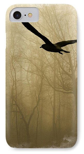 IPhone Case featuring the photograph Into The Fog by Harry Spitz