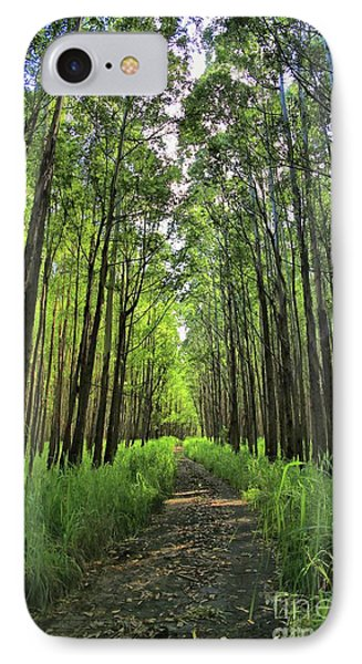 IPhone Case featuring the photograph Into The Forest by DJ Florek