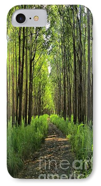 IPhone Case featuring the photograph Into The Forest I Go by DJ Florek