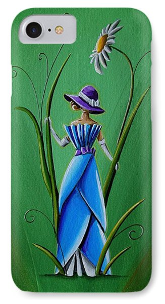 Into The Garden Phone Case by Cindy Thornton