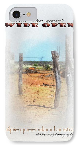 Into The Great Wide Open Australia 2 IPhone Case by Vicki Ferrari
