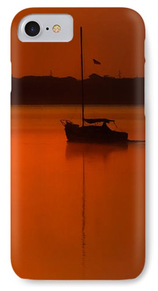 Into The Light IPhone Case by Karen Wiles