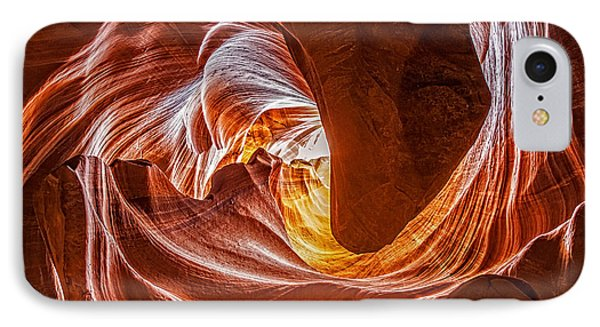 Into The Light IPhone Case