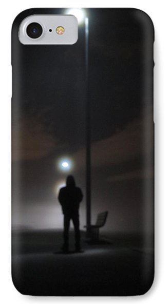 IPhone Case featuring the photograph Into The Mist by Digital Art Cafe