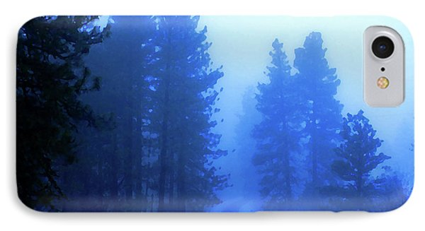 Into The Misty Unknown IPhone Case by Ben Upham III