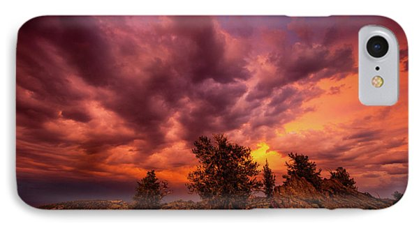 Into The Storm IPhone Case by Dan Holmes