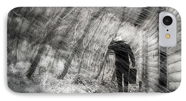 IPhone Case featuring the photograph Into The Storm by Gray  Artus