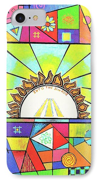 Into The Sun IPhone Case by Jeremy Aiyadurai