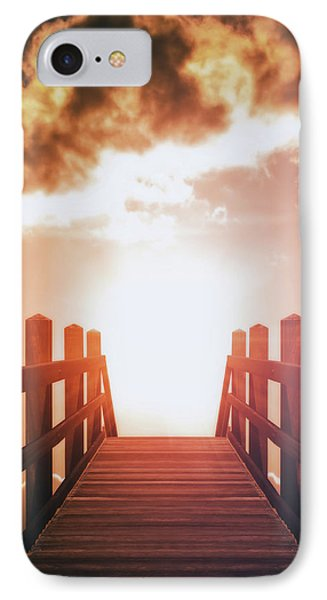 Into The Sun IPhone Case by Wim Lanclus