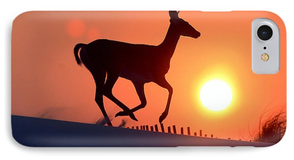 Into The Sunset Phone Case by Scott Mahon