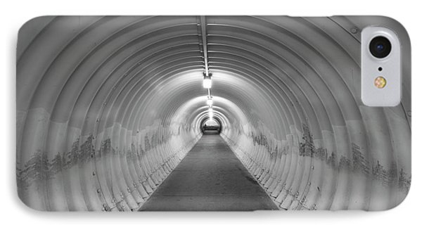 IPhone Case featuring the photograph Into The Tunnel by Juli Scalzi