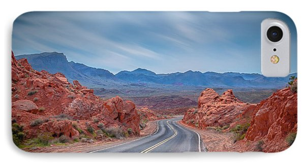 Into The Valley Of Fire IPhone Case by Mark Dunton