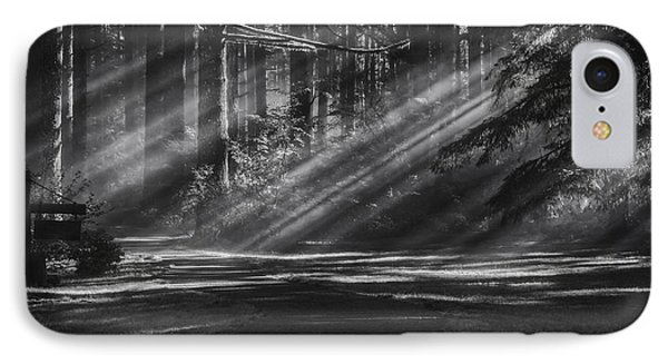 Into The Woods IPhone Case by Mark Kiver