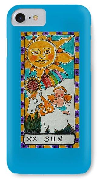 Intuitive Catalyst Card - Sun IPhone Case
