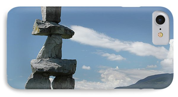 Inuksuk IPhone Case by Wilko Van de Kamp