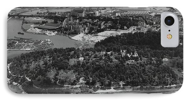 Inwood Hill Park Aerial, 1935 IPhone Case