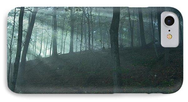 Iowa Fog Rays Phone Case by Sven Brogren