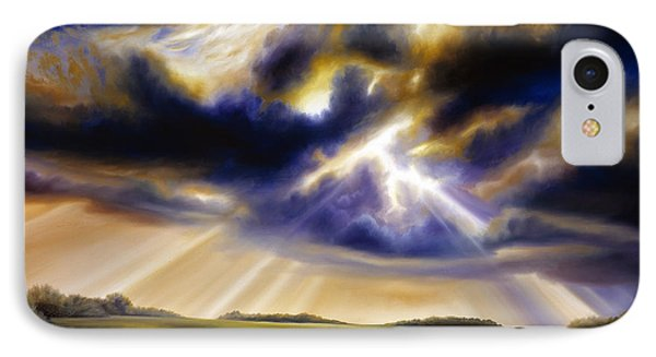 Iowa Storms IPhone Case by James Christopher Hill