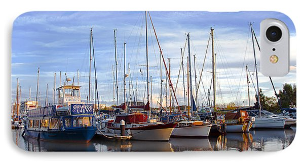 Ipswich Harbour Phone Case by Svetlana Sewell