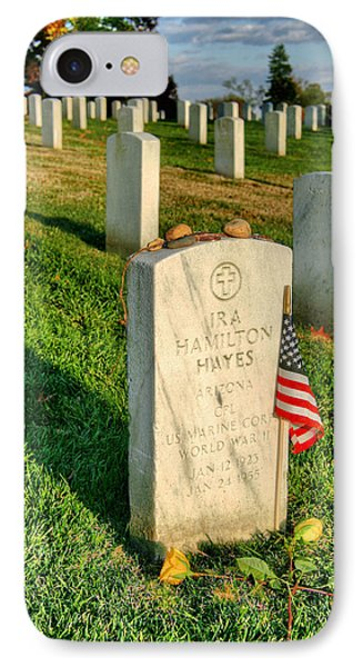Ira Hayes IPhone Case by JC Findley
