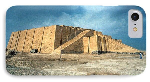 Iraq: Ziggurat In Ur IPhone Case