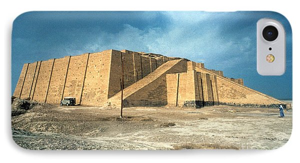 Iraq: Ziggurat In Ur Phone Case by Granger