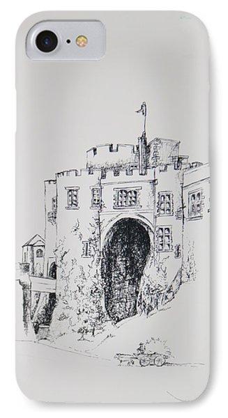 Ireland Castle 2 IPhone Case by Dixie Trent