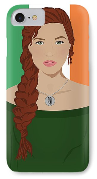 IPhone Case featuring the digital art Ireland by Nancy Levan