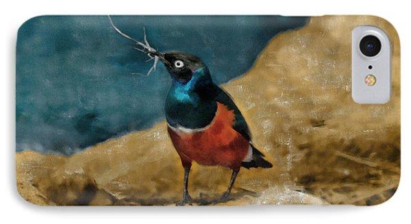 Iridescent Starling IPhone Case by Sergey Lukashin