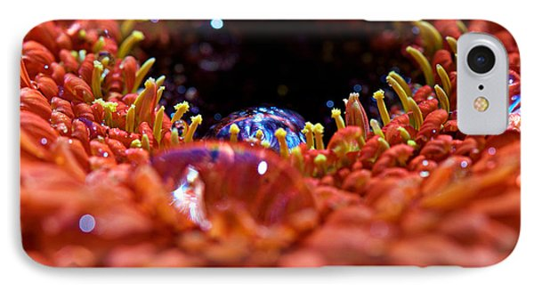Iridescent Water Drops Phone Case by Lisa Knechtel