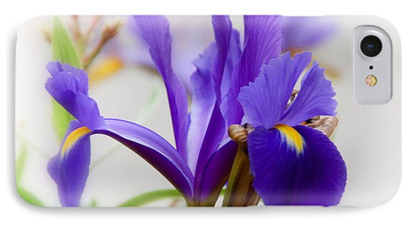IPhone Case featuring the photograph Spring Iris by Elaine Manley