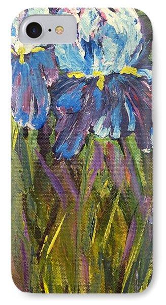 Iris Floral Garden IPhone 7 Case